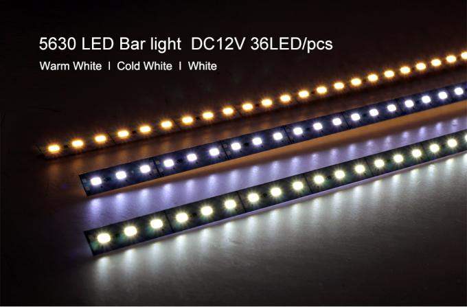 5630 LED Hard Rigid LED Strip High Brightness DC12V For Kitchen Under Cabinet Showcase