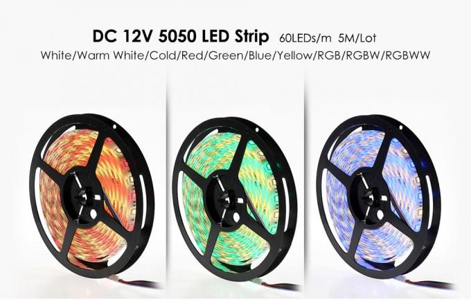 Flexible RGBW Rgb LED Strip Lights 5050 Color Changing Led Strip Lighting 12v