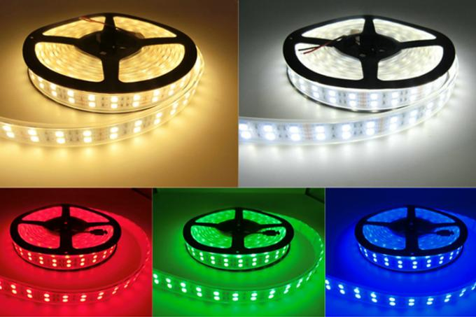 IP67 Waterproof 12v Led Strip Lights 5050 120 LEDs/m Silicone Tube