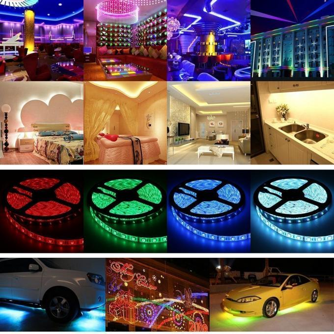 5050 SMD 24v Led Strip Lights / White Ribbon 24v Led Rope Light