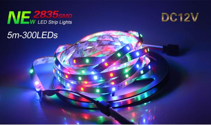 High Bright 5M Ribbon Led Light Strip Flexible 12 Volt Led Tape Light Kit