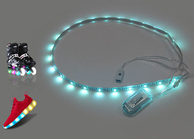 China Colorful Rechargeable Led Strip Light With USB Recharging Light Up Shoes supplier