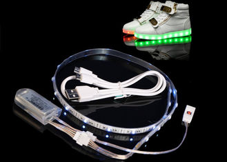 China MAGY VOLAT Waterproof IP65 WearableLED Light Strips For Shoes Clothing supplier