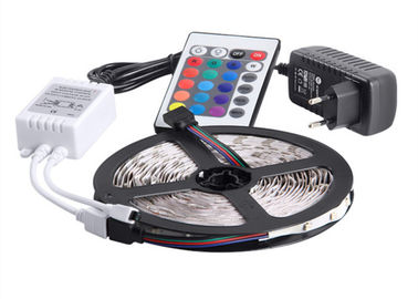 China 3528SMD Flexible LED Strip Light Kit 12V 2A IR Remote Controller​ supplier