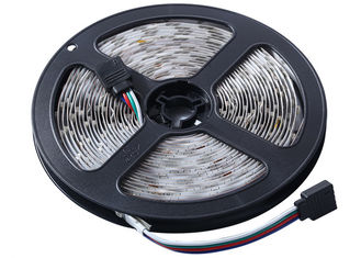 China Flex RGB 5m Led Strip Light With 24 Keys Led Control And Driver supplier