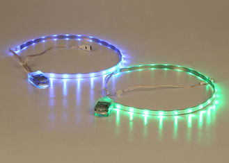 China SMD 5050 Led Light Up Shoes Strip Light USB Rechargeable Battery Operated supplier