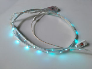 China Colorful Shoes 3.7v Battery Powered Led Light Strips With Remote  supplier