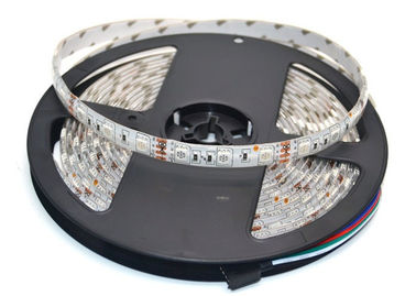 China 14.4W Flexible LED Strip Light Outdoor / Indoor Decorative 5m 300 LEDs 60Leds/m 5m/lot supplier