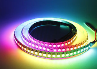 China Black White PCB Ws2812b Led Light Strip IC Multi Model Addressable Led Tape supplier