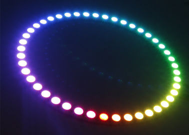 China 16 35 45 Bits WS2812 Ws2812b Led Strip With Integrated Drivers Round Board supplier