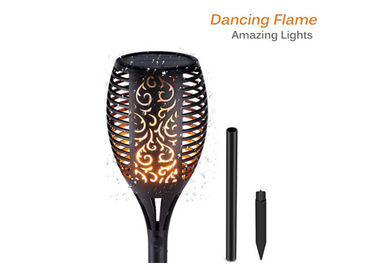 China Flame Solar Torch Lights IP65 Waterproof Flickering Dancing Garden Flame Torch supplier