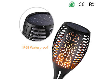 China Flickering Flame Solar Torch Outdoor Solar Spotlights For Landscape Decoration supplier