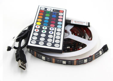 China USB Powered RGB Changing Color Led Strip Light 44 key RemoteFor PC Monitor Led Tv Backlight Strip supplier