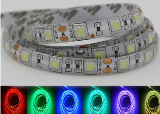 China IP20 IP65 IP68 5 Meters 5050 Rgb LED Strip Lights 72w 12v Multi Color Led Strip supplier