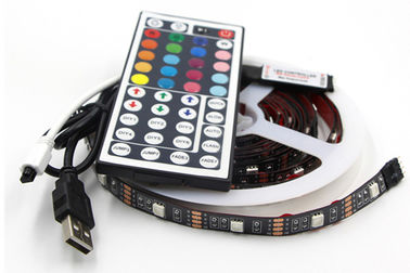China Paypal Accept SMD5050 Tv 5V USB LED Strip RGB Light With Remote supplier