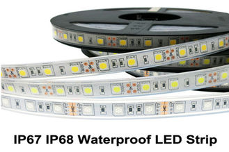 China IP67 IP68 Waterproof Flexible 5050 Rgb Led Ribbon Light Strips 60 LED/M supplier