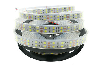 China IP67 Waterproof 12v Led Strip Lights 5050 120 LEDs/m Silicone Tube supplier