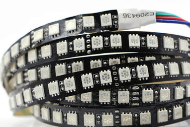 China 5050 SMD 24v Led Strip Lights / White Ribbon 24v Led Rope Light supplier