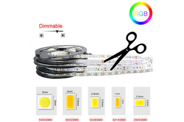 China High Bright 5M Ribbon Led Light Strip Flexible 12 Volt Led Tape Light Kit supplier