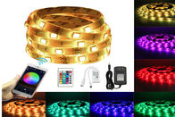 150 LEDS 5M RGB Bluetooth LED Strip 12V DC WiFi Phone APP Remote Controller+ 3A Power Adapte