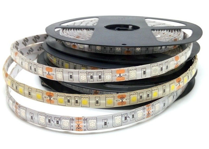 5 meter rape flexible led strip light dc12v warm white yellow 60leds mozeypictures Image collections