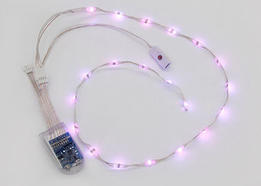 Colorful RGB Rechargeable LED Light Strips For Shoes OEM/ODM