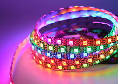Bendable Digital RGB IP20 Ws2812b Led Strip Ws2812 Accept Customized For Decoration