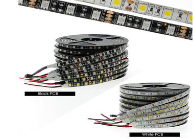 China SMD 5050 Outdoor Waterproof Rgb LED Strip Lights / Multicolor Led Light Strip factory