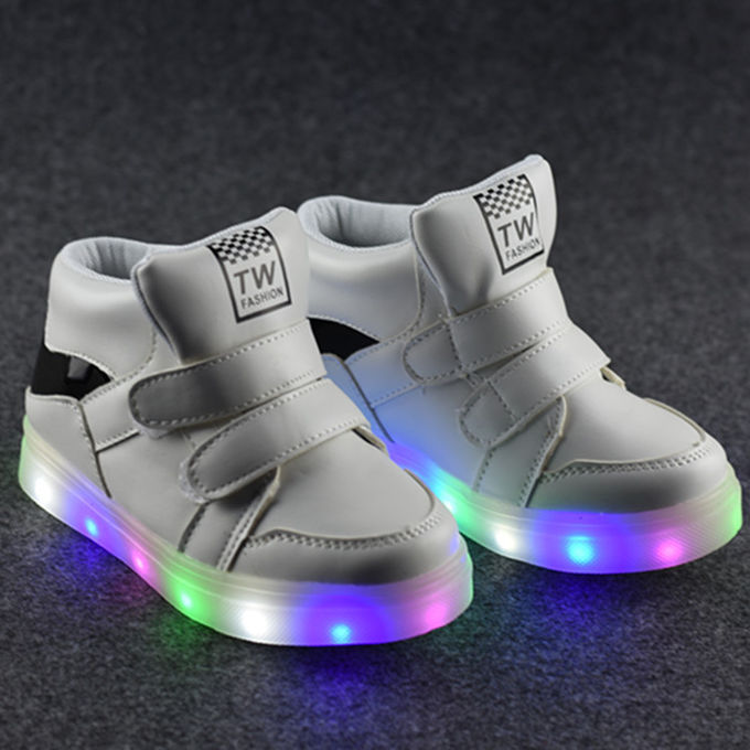 Colorful Rechargeable Led Strip Light With USB Recharging Light Up Shoes