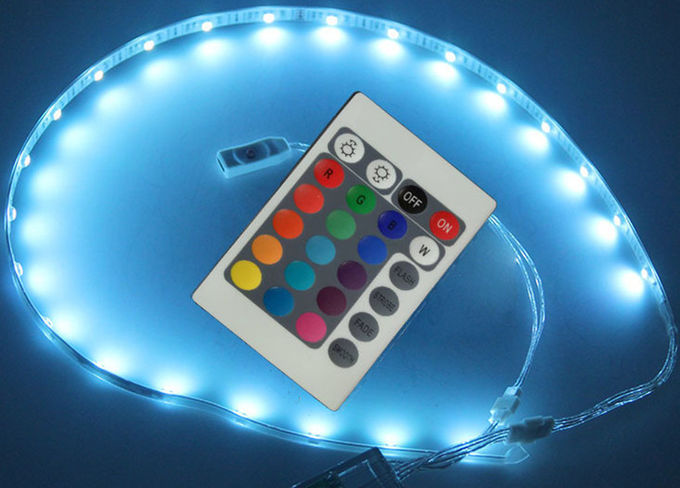 Remote Controlled Led Flashing Shoe Light For Dancing RGB Colors