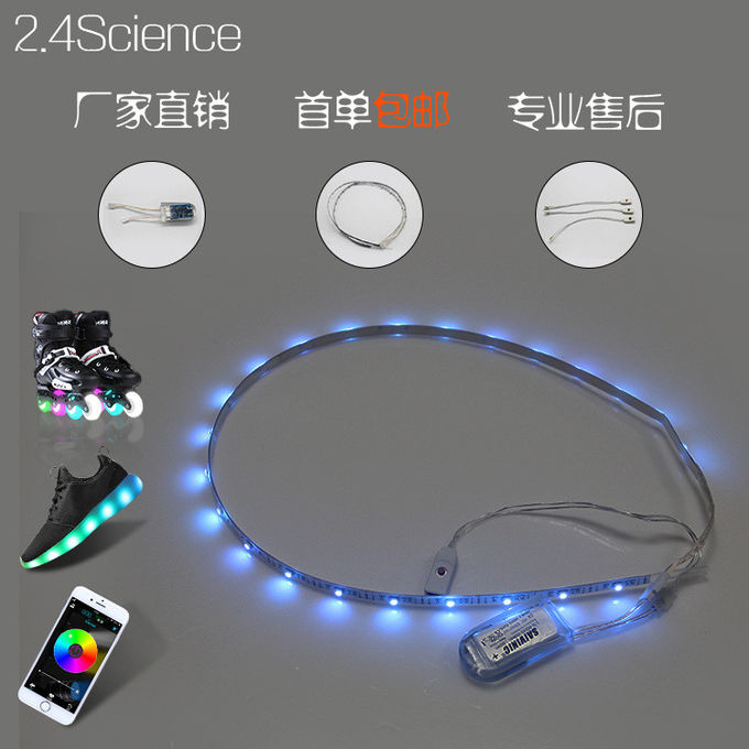 DC5v 24 Leds Usb Rgb Led Strip Rechargeable Battery Wireless Led Strip Lights Tape For DIY