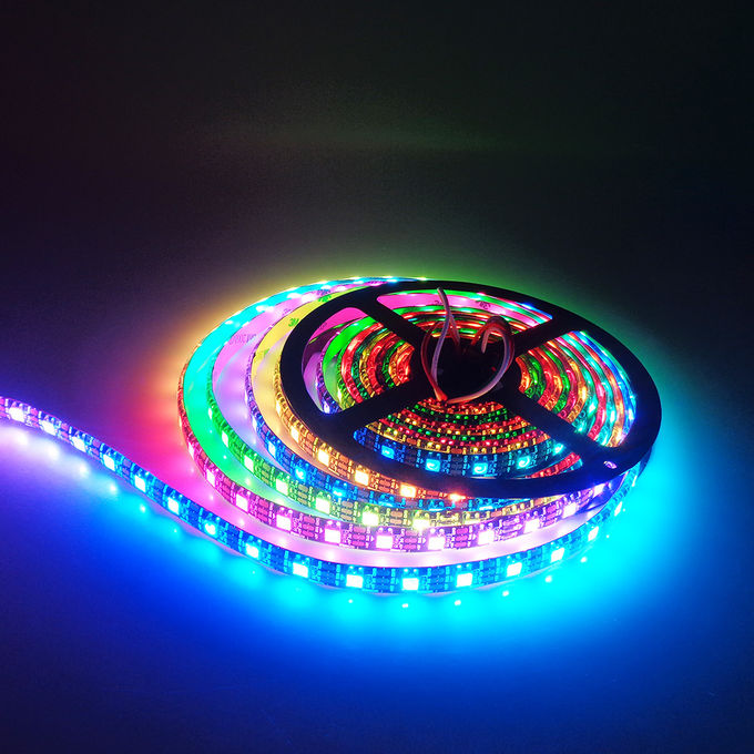 Black White PCB Ws2812b Led Light Strip IC Multi Model Addressable Led Tape