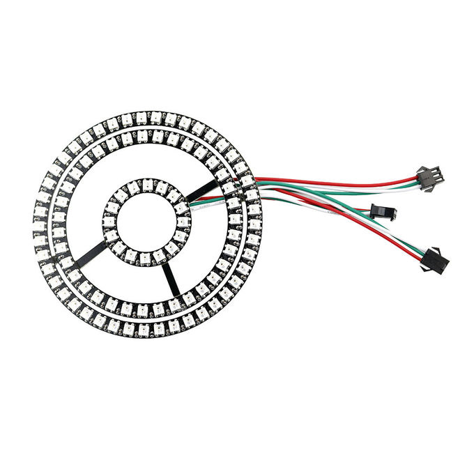 16 35 45 Bits WS2812 Ws2812b Led Strip With Integrated Drivers Round Board
