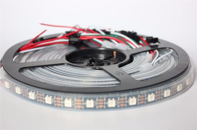 Waterproof 5050 Digital RGB Pixel Ws2812b Led Strip144 Led Strip DC5V